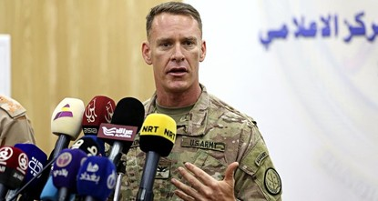 pThe spokesman of the United States-led coalition against Daesh Col. Ryan Dillon said Tuesday that Syria's northern Afrin region was not a part of the U.S.' area of operations against the Daesh...