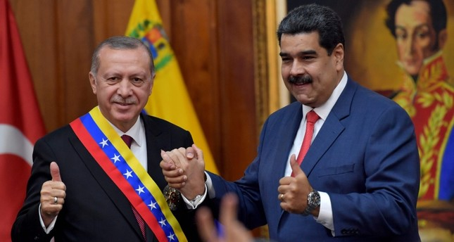 Turkey voices support for Venezuela's President Maduro after US backs opposition leader