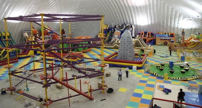 Turkey's largest indoor children's play center now open in Antalya