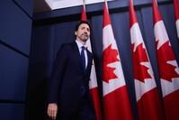 رئيس الوزراء الكندي جاستن ترودو الفرنسية