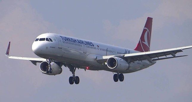 Turkish Airlines flight circles seven hours before returning to the tarmac