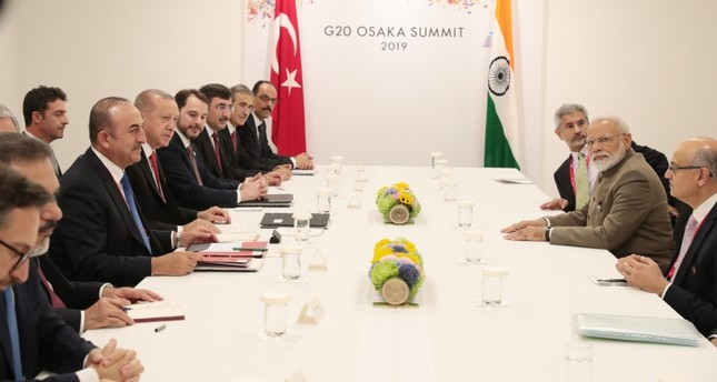 رئيس وزراء الهند: لقائي أردوغان كان مثمراً وتركيا صديق مقدر
