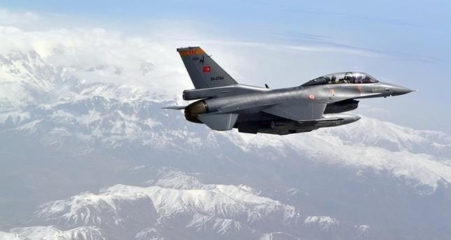 الجيش التركي يحيّد ٣ إرهابيين من منظمة بي كا كا في غارة جوية شمال العراق