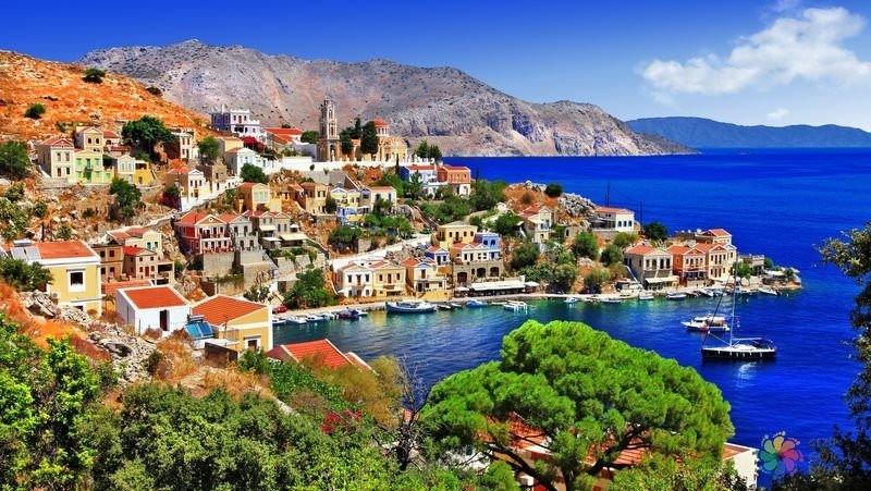 Greeceu2019s Symi island
