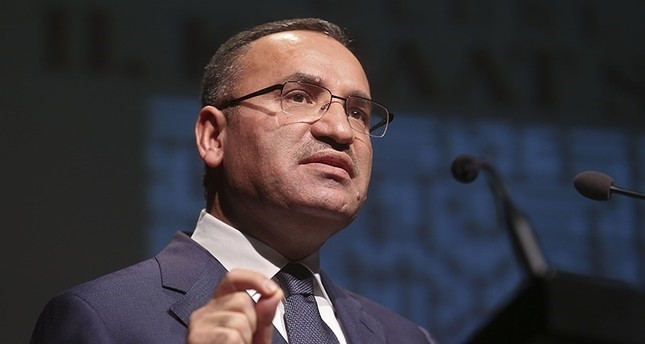 Government spokesperson Bekir Bozdağ (AA File photo)