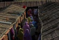 UN rights chief, Indonesian president discuss Rohingya plight