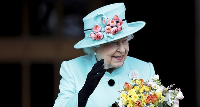 This is a Sunday April 16, 2017 file photo of Britain's Queen Elizabeth as she leaves the Easter Sunday service in Windsor Castle, in Windsor England.  Britain's Queen Elizabeth celebrates her 91st birthday on Friday, April 21, 2017. (AP Photo)