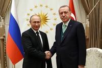 Präsident Recep Tayyip Erdoğan und sein russischer Amtskollege Wladimir Putin trafen sich am Montag in Ankara, um über die jüngsten Entwicklungen in der Syrien-Krise sowie über Trumps Anerkennung...