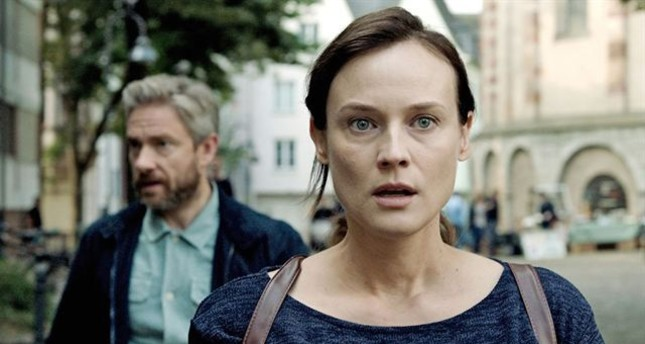 "Diane Kruger and Martin Freeman in ""The Operative."""