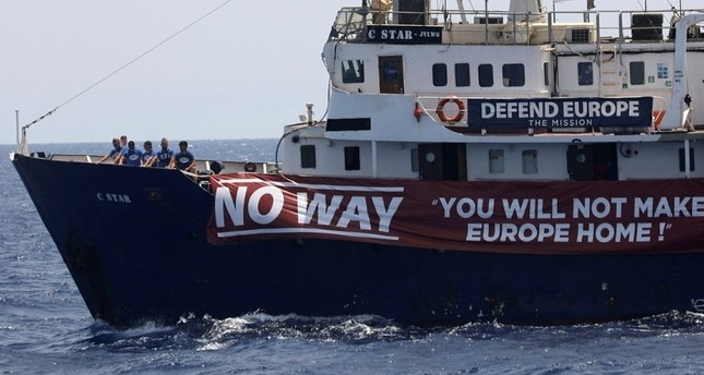 Far-right group hails bid to block rescue of refugees