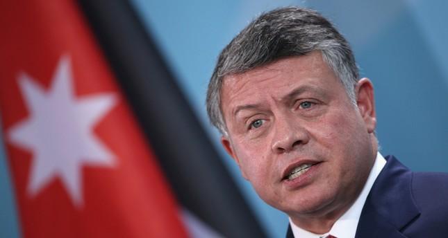ملك الأردن يزور الضفة الغربية عقب أزمة المسجد الأقصى