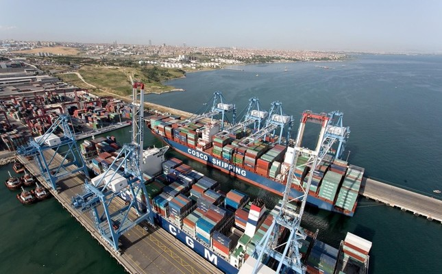 Turkey's exports in the first 11 months of this year totaled $154.2 billion, a 7.7 percent year-on-year increase.