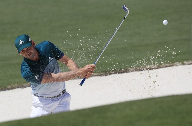 Garcia wins first major title in Masters playoff