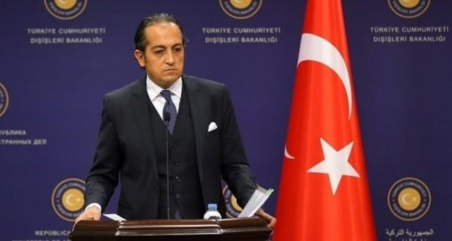 MFA Spokesman Hüseyin Müftüoğlu