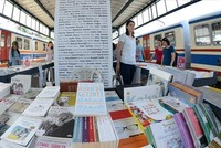 Istanbul's historic Haydarpaşa railway station hosts book fair with over 500 authors