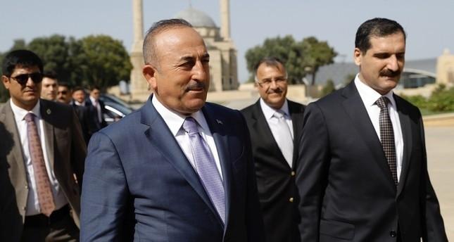 تشاوش أوغلو لنظيره الأمريكي: تركيا لن ترضخ لتهديدات أحد