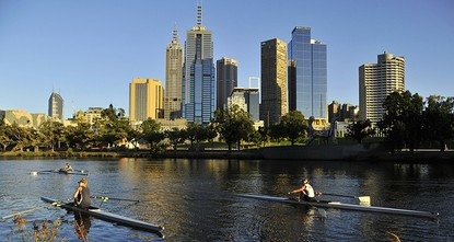 pMelbourne has been named the world's most livable city for the seventh year in a row, while Sydney remained out of the top 10 for another year due to terrorism fears, according to a report...