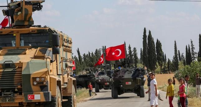 القوات التركية تسيّر الدورية الـ18 في منبج السورية