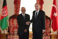 الرئيس التركي رجب أردوغان ونظيره الأفغاني أشرف غني أرشيفية
