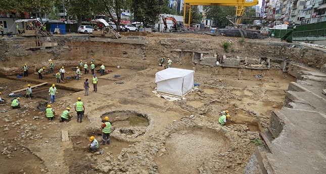 Ancient human remains found in metro construction site