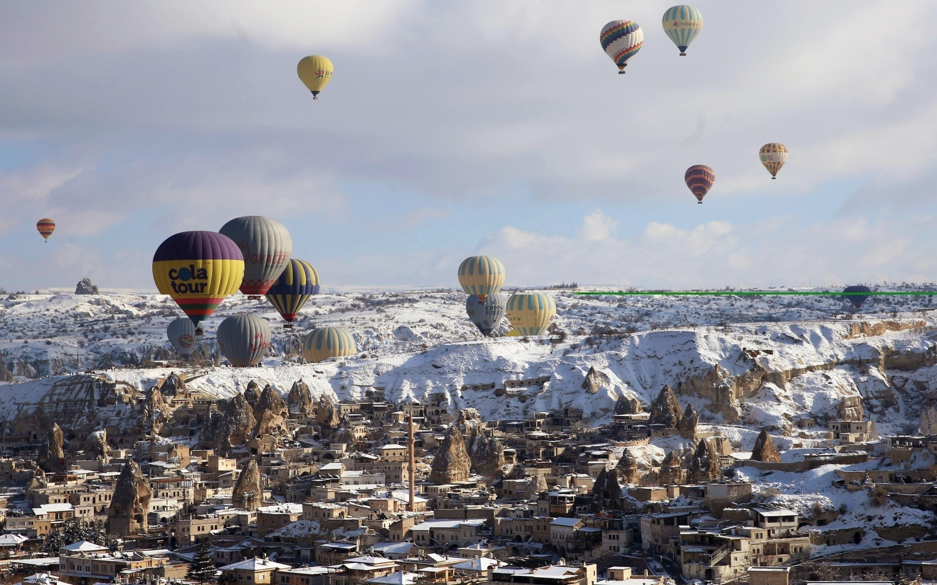 A total of 537,500 tourists took hot air balloon rides in 2018, boosting the tourism revenue of the country by almost $80 million.