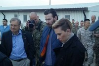 Scarlett Johannson, Chris Evans visit İncirlik base to boost morale of US troops