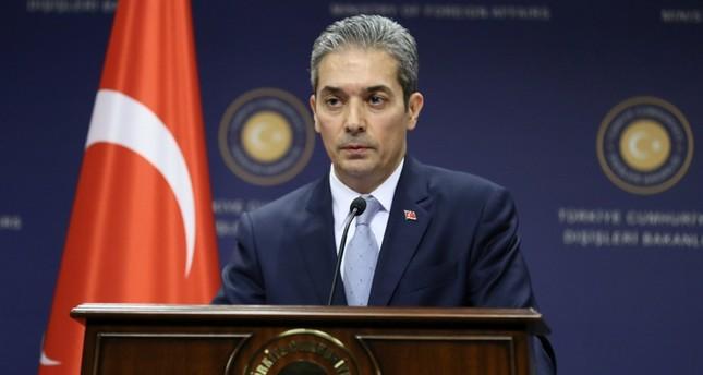 المتحدث الرسمي باسم الخارجية التركية (الأناضول)