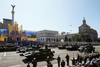 Ukraine marks 27 years of independence with biggest ever military parade