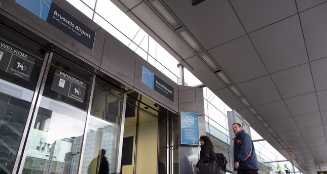 Brussels Airport, Zaventem, Brussels.