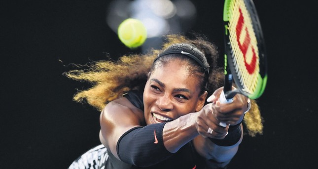New mom Serena makes return to tennis courts
