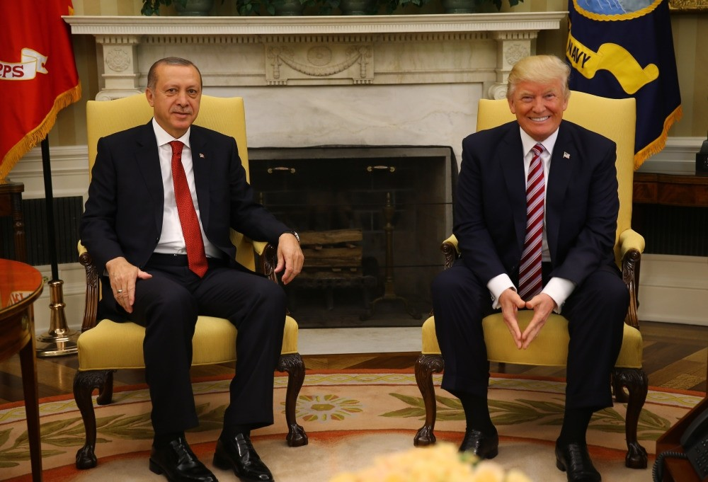President Erdou011fan met President Trump in the White House on Tuesday.