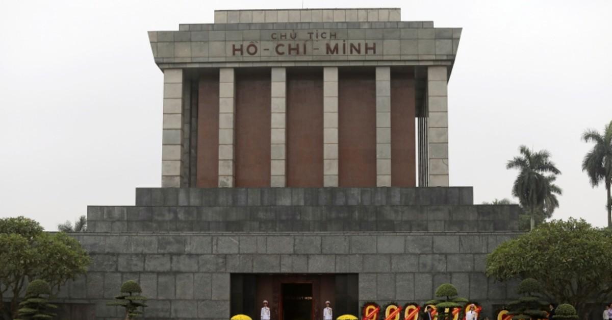 Ho Chi Minh mausoleum is seen in Hanoi, Vietnam, March 2, 2019. (Reuters Photo)