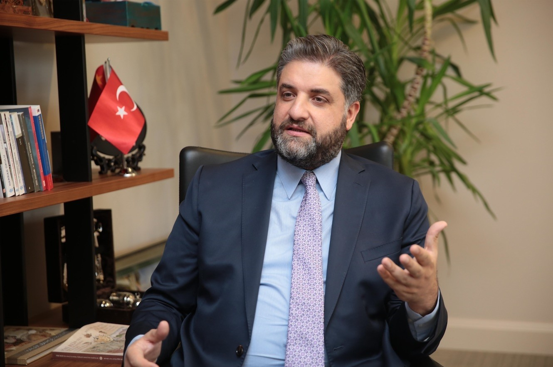 Turkish Ambassador to China Emin u00d6nen