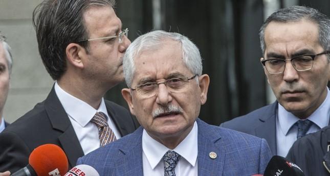 YSK head Sadi Güven