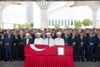 Body of slain diplomat brought to Turkey for funeral