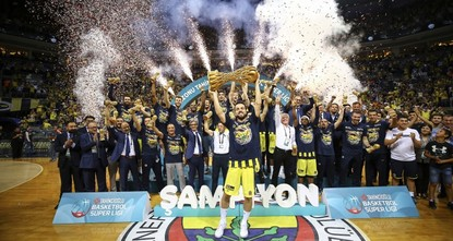 Fenerbahçe Doğuş wins 9th Turkish basketball title