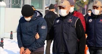 توقيف 9 أجانب بتهمة الانتماء إلى داعش شمالي تركيا