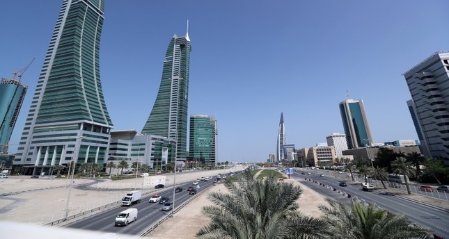 حي الأعمال في المنامة رويترز