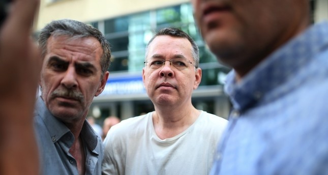 The U.S. evangelical pastor Andrew Brunson, who has been under house arrest due his active involvement in terrorist campaigns in Turkey, is appearing in court today in u0130zmir province.