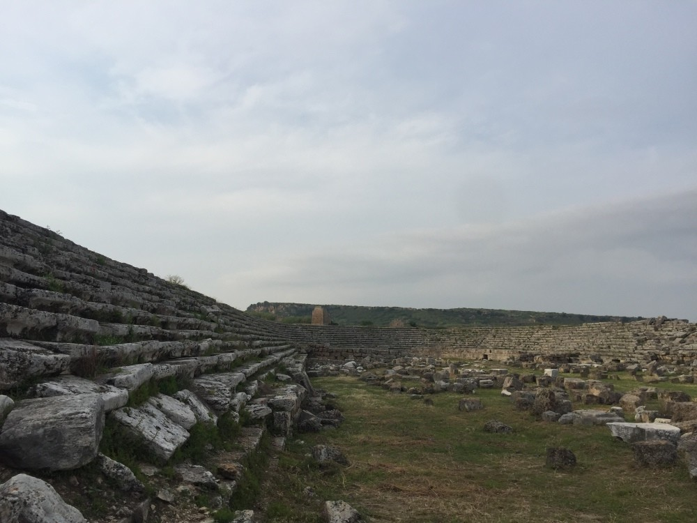 The stadium in Perge is among Turkeyu2019s best preserved sites.