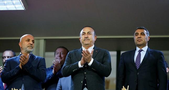 Turkey, US agreed on Manbij, east of the Euphrates, FM Çavuşoğlu says