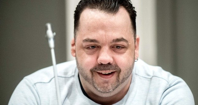 In this file photo taken on May 16, 2019 Former nurse Niels Hoegel, accused of killing more than 100 patients in his care, attends a hearing in his trial, in Oldenburg, northern Germany. (AFP Photo)