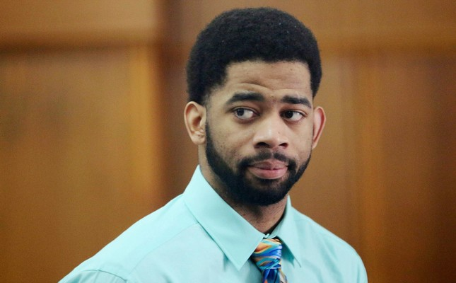 In this Tuesday, June 20, 2017, file photo, former Milwaukee police officer Dominique Heaggan-Brown appears in Milwaukee County Court in Milwaukee. (AP Photo)