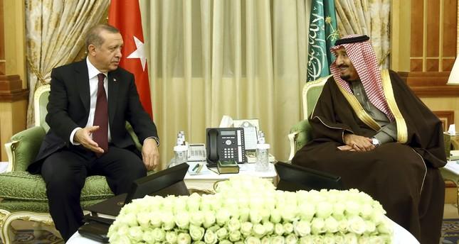 أردوغان يبحث مع ملك السعودية وأمير قطر موقفاً مشتركاً تجاه القدس