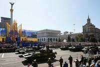 Ukraine feiert Unabhängigkeitstag mit Militärparade