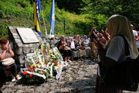 Bosnians commemorated Wednesday the 25th anniversary of the Sokolina massacre, during which Serbian forces killed 48 Bosnian soldiers.
