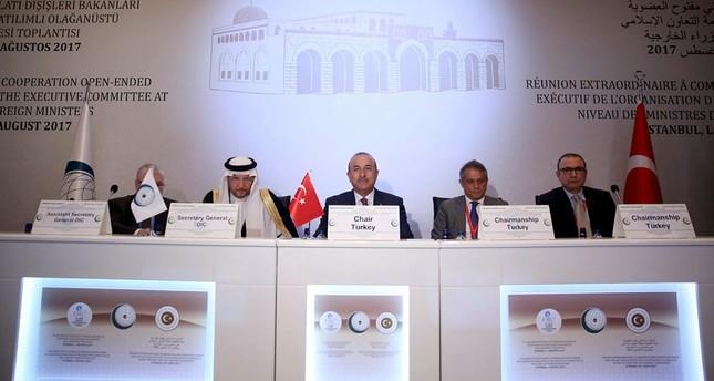 وزير الخارجية التركي: يجب أن ندعم الفلسطينيين بالأفعال لا بالأقوال