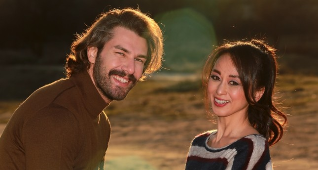 "Furkan Palalı and Megumi Masaki share the leading roles in ""Return to Home."""