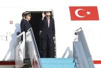 Президент Эрдоган прибыл в Тегеран