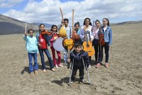 An orchestra that consists of talented students from a village school in the Varto district of the eastern province of Muş, which has received support from around Turkey, was invited to the Sansev...
